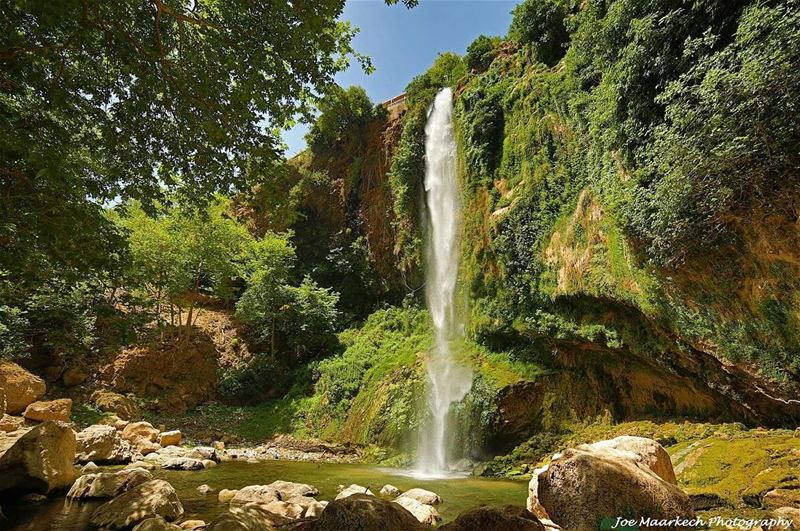 Do not feel sad for your tears as rocks never regret the waterfalls😌👌 ... (Kfarhilda, North)