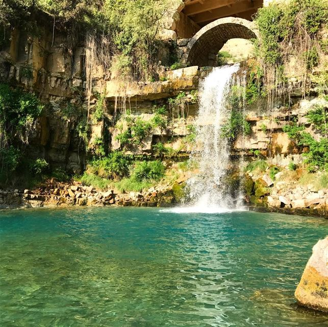 Water is the most perfect traveller because when it travels it becomes the... (Afka, Mont-Liban, Lebanon)