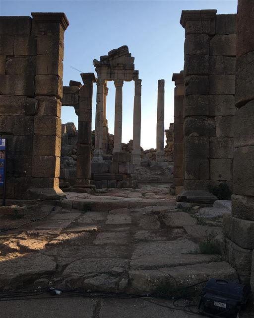 Great Temple in 3rd century!  ruins  faqra  aznavour  summer  festival ...