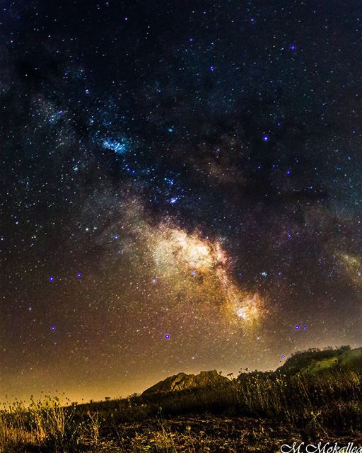 MilkyWay Chaser Forever, 5 hours working with this photo took forever but... (Jarmaq, Al Janub, Lebanon)