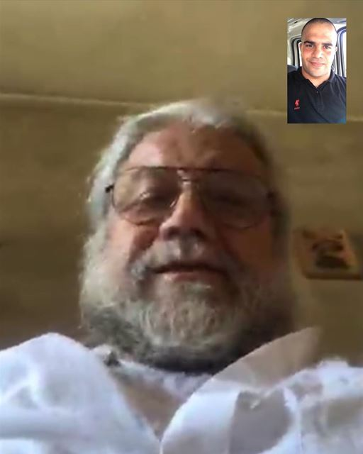 😇🙏 💒when the love videocalls you 😻 videocall  love  father  boss  sir ... (Lebanon)