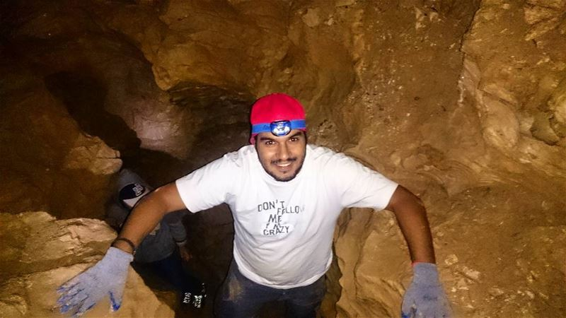 Don't follow me, im crazy and lost caving  lebanon  faraya  farayalovers ... (Faraya, Mont-Liban, Lebanon)