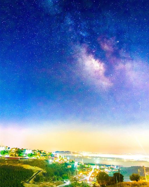 The Milkyway from Houmine Al Fawka  milkyway  night  nightsky ...