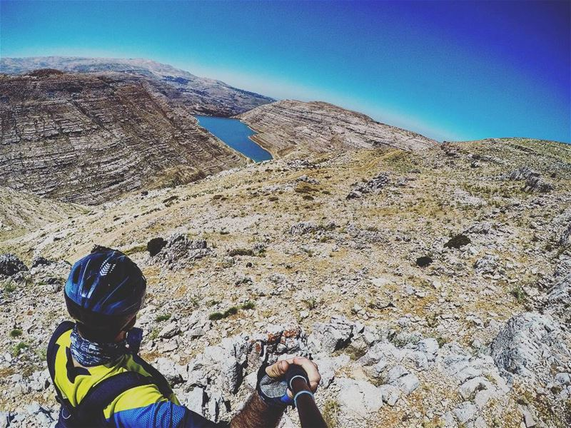 Crashing is part of cycling as crying is part of love. gopro  goproleb ... (Chabrouh)