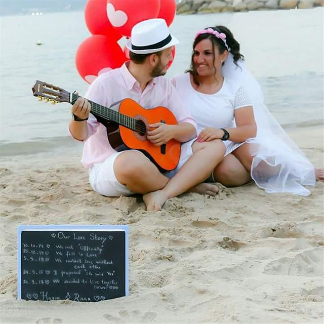 Sea the love !  beach  romance  love  photoshoot  wedding  lamedinabeach ... (Lamedina Hotel, Beach Club & Resort)