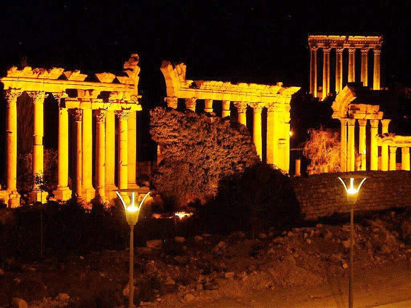 The  Groves Were  God's First  Temples.😎😎 luxury luxurylife... (Baalbeck's Temple)