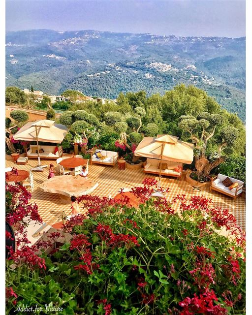 From the window of a Lebanese mountain house I saw.......... (Brumana, Mont-Liban, Lebanon)