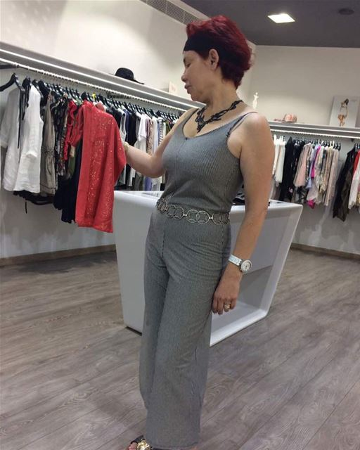 Jumpsuit worn by our lovely client, Now 30% OFF DailySketchLook 107... (Sketch)