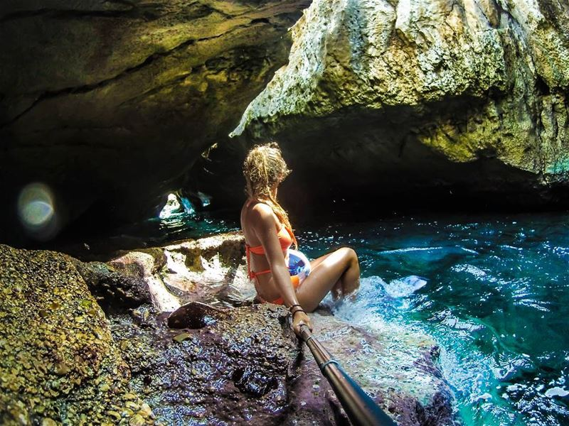 Shaka Land.. cave  clearwater  mermaid  underwater  cliff   gopro ...