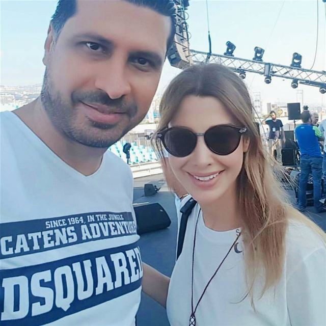 How a kind and nice singer we have ever seen 💕  nancyajram  nancy9 ...