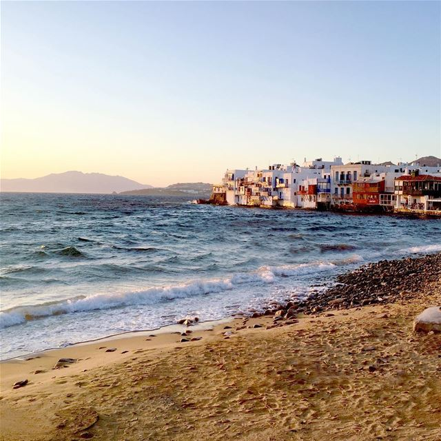 The place to be...  Mykonos Mediterranean travelgram  photooftheday ... (Míkonos)