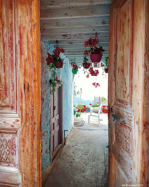 tb  old  door  sour  southlebanon  antique  flowers  texture  colorful ... (Soûr, Al Janub, Lebanon)