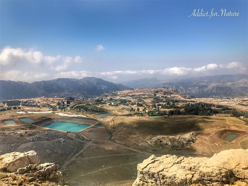 Trails maybe crooked and dangerous but they lead to the most amazing view!... (Akoura, Mont-Liban, Lebanon)