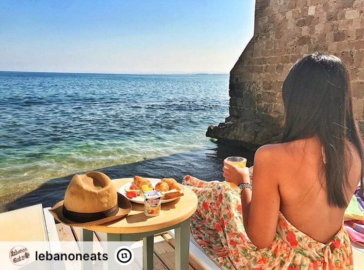"""Moments like these are irreplaceable 🌊 Credit @luciariachy  lebanoneats..."