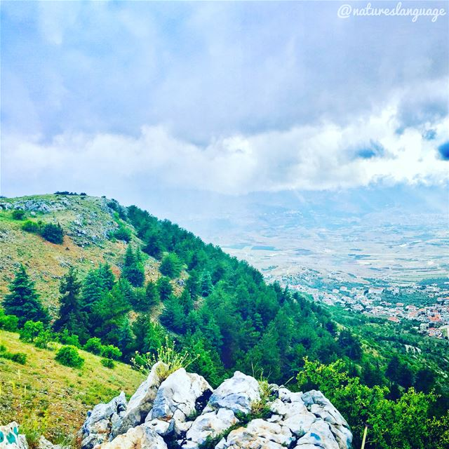 It's really hard to take my eyes of this  beautiful  landscape  scenery at... (Beqaa Valley)