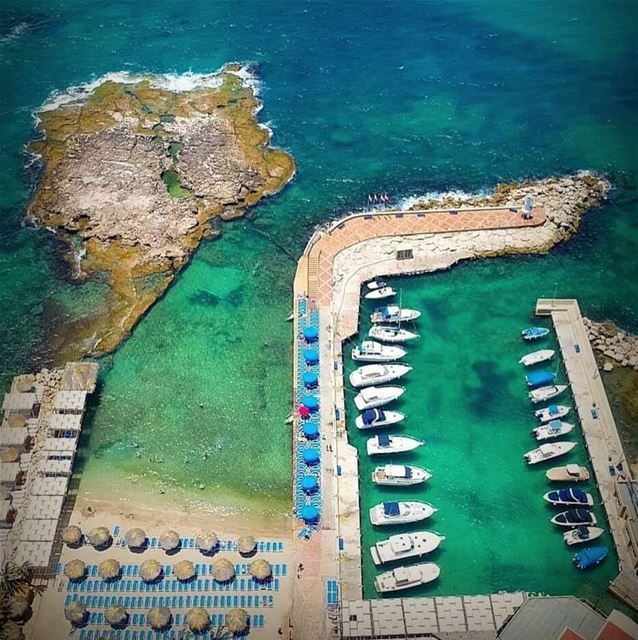 batroun  san  stephano  resort  beach  sea  mediterraneansea  marina ... (San Stephano Resort - Batroun)