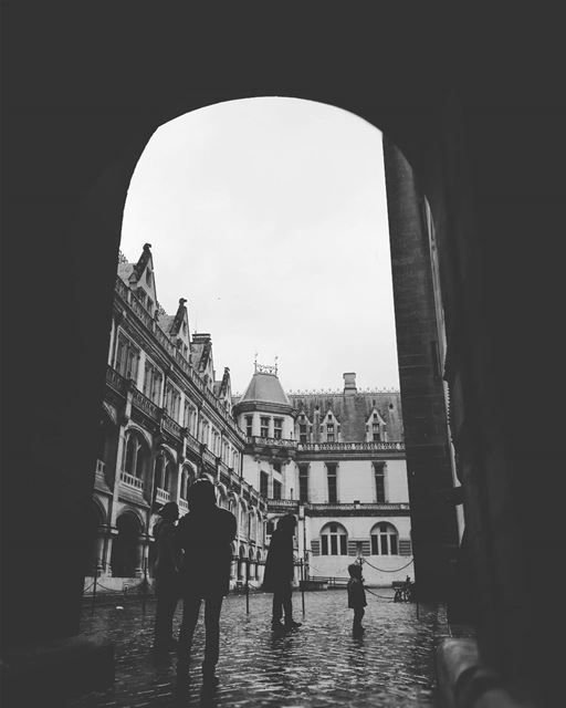 Dans le Château -  ichalhoub was in  France shooting with a mobile phone /...