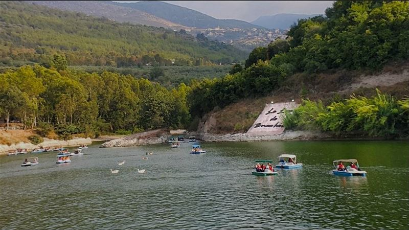 If dreams were wings you know I would have flown to you 💚 💙 ❤ ... (Zgharta Lac De Bnachii)
