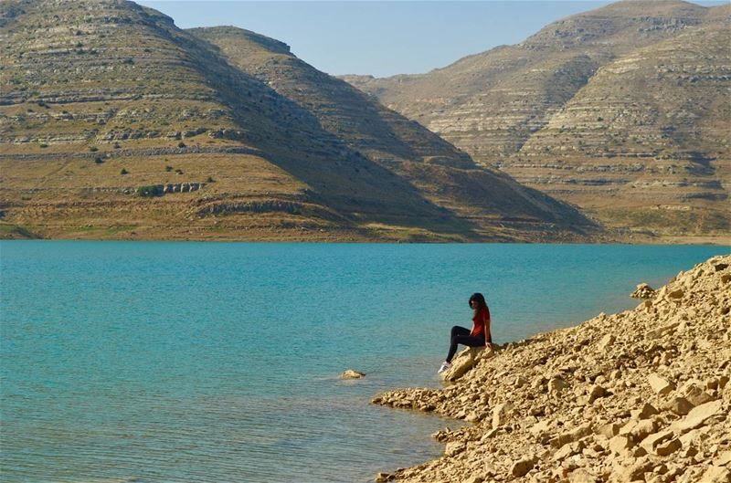 The best way to end the day.  PeaceOfMind...... livelovelebanon ... (Chabrouh Dam-Faraya)