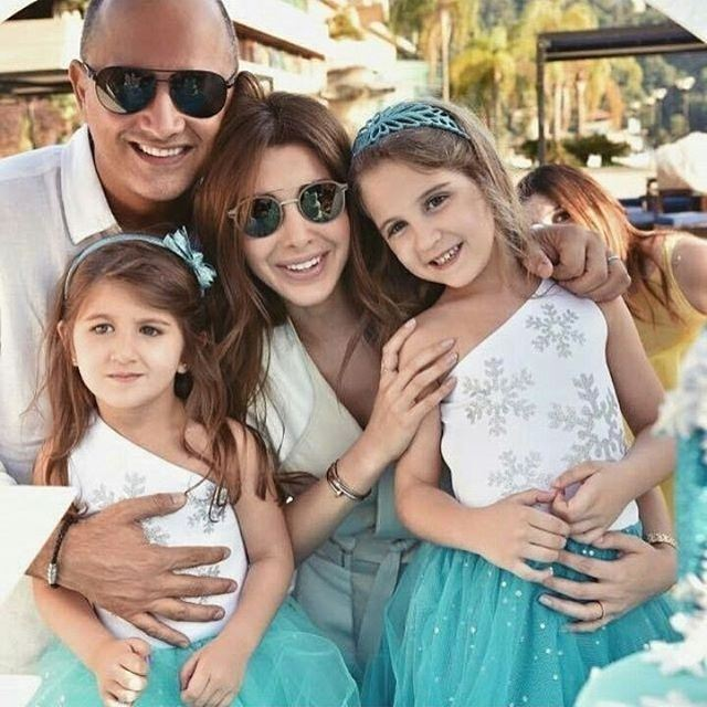 Sweetest family 👪❤  nancyajram  nancy9  hassabeek  Türk  Turkey  Türkiye...