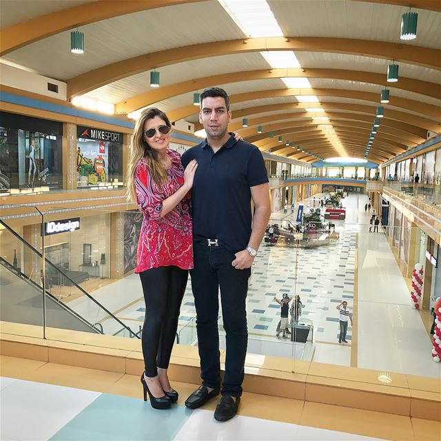 Visiting the brand new @cascadamall The biggest mall in Lebanon 🇱🇧🇱🇧 ... (Cascada Mall)