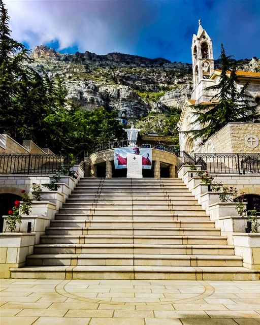 Feed your faith and your fears will starve to death⛪..... church ... (Akoura, Mont-Liban, Lebanon)