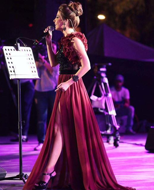 Part 4 💃Such an amazing night 🌃 🌉 ❤  nancyajram  nancy9  hassabeek  Tür