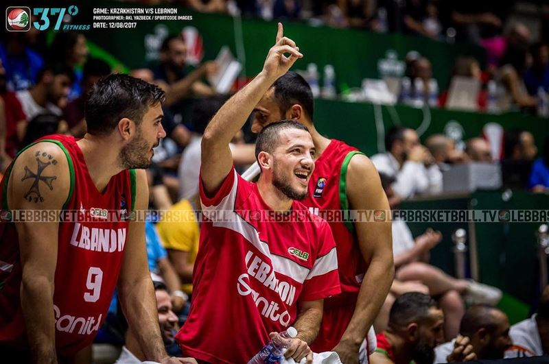 Check the pictures from the Kazakhstan Vs Lebanon game now on the Lebanese...