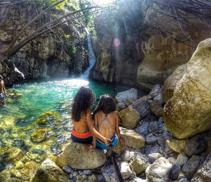 Thankful that this girl is always down for adventure  MyAdventureSeeker ... (Akoura, Mont-Liban, Lebanon)