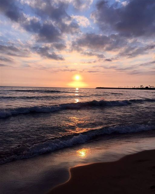 Sunset  travelawesome  exploretheglobe  traveltheworld  worlderlust ... (Beirut, Lebanon)
