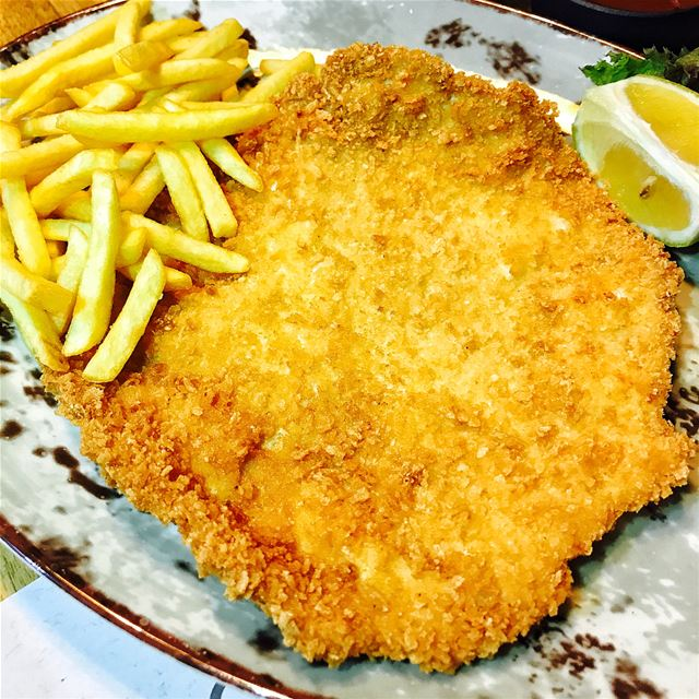 If you want to enjoy an authentic, delicious, thin, crispy, non oily... (Schnitzels)