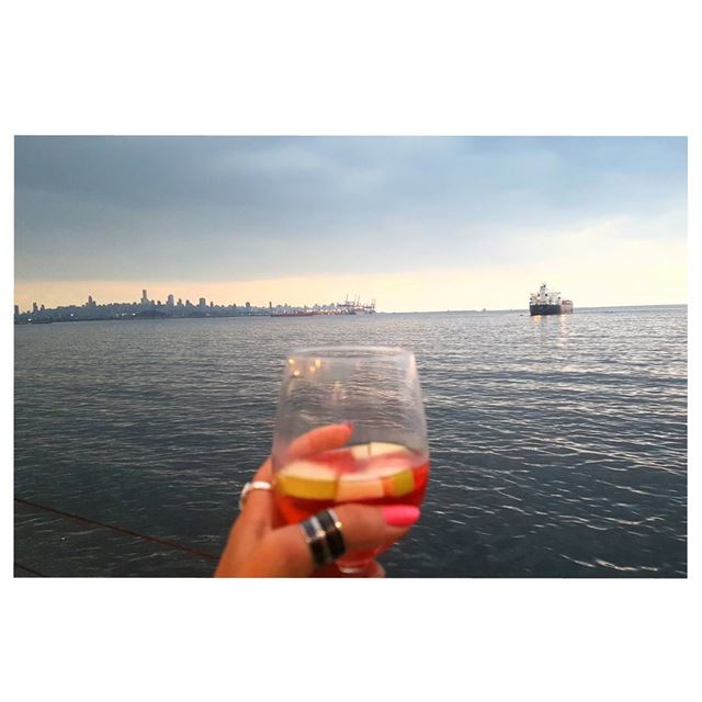 A city in the heart  BEIRUT  cheers--- TakeMeTo  Lebanon  Sangria ... (Amarilla By the Coast)