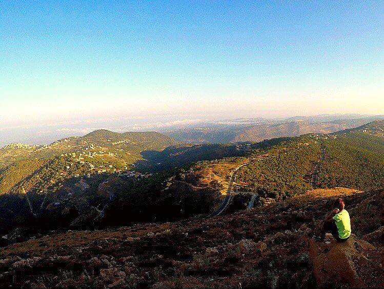 Think Outside! No box required 🌲⛺️  jezzine  southlebanon  lebanon ... (Jezzine District)
