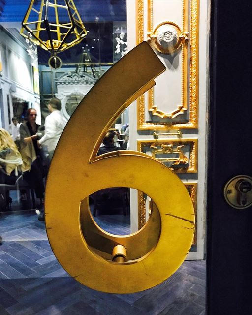 6 will be your lucky number. Coming soon..... Lebanon  Beirut ... (Numero Six)