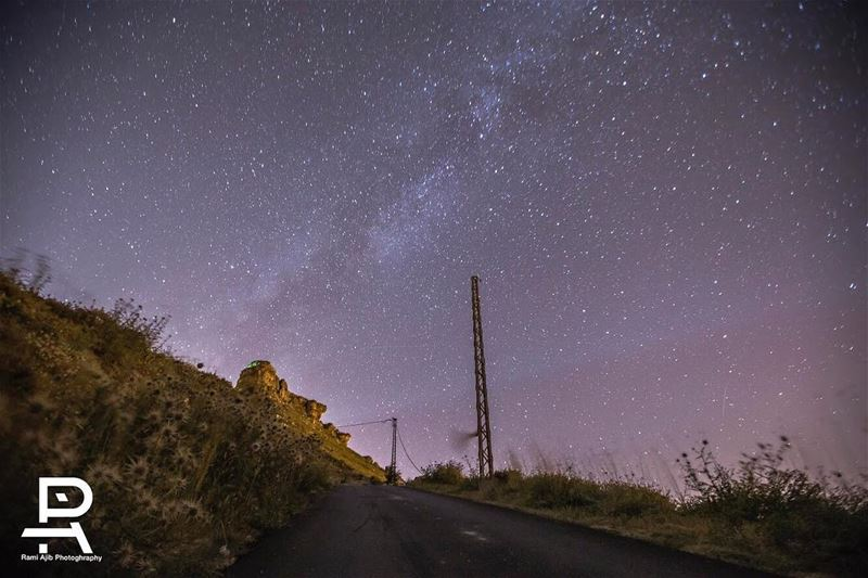 There wouldn't be a sky full of stars if we were all meant to wish on the... (Akoura, Mont-Liban, Lebanon)