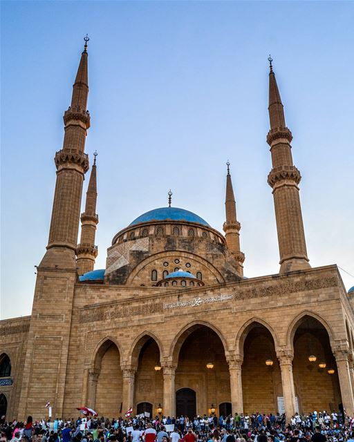 .Rafiq Al Hariri Mosque, Beirut Lebanon. Good afternoon dear Friends and... (Beirut, Lebanon)