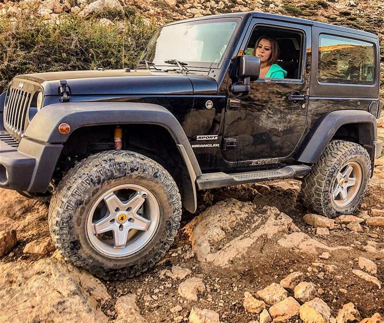 O|||||||O back and crawling  lebanon  mountains  jeep  offroad  wrangler ... (Sannine Heights)