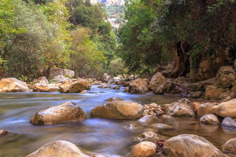 Lebanon nature yahchouch river landscape lebanon_hdr lebanonspotlights... (Yahchouch)