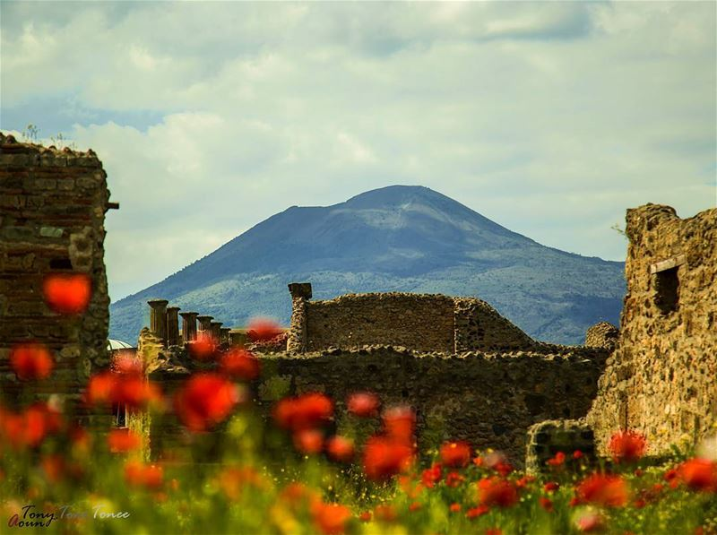 A bit less than 2000 years ago, Vesuvius erupted destroying everything in... (Pompei)