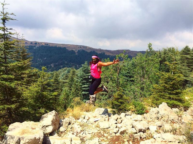 Embrace your own weirdness 😎  cedars  tanourine  hiking  nature  paradise... (Tannourine Cedars Nature Reserve)