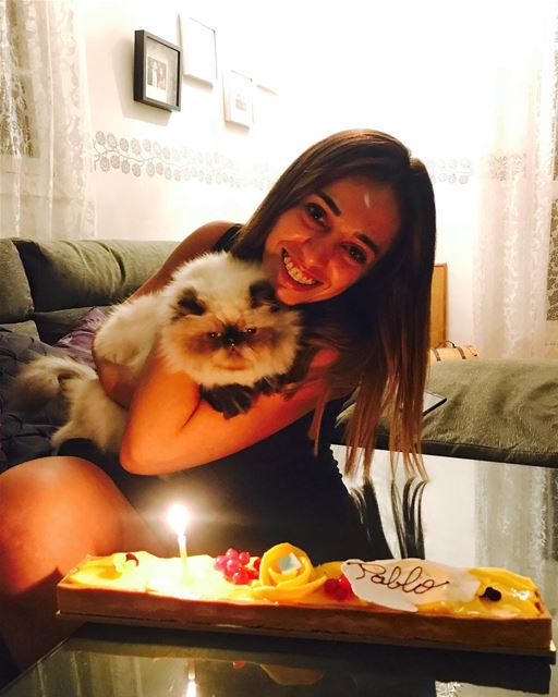 Are you a cat or a dog person?Happy Birthday Pablo 🎂..... Lebanon ... (Beirut, Lebanon)
