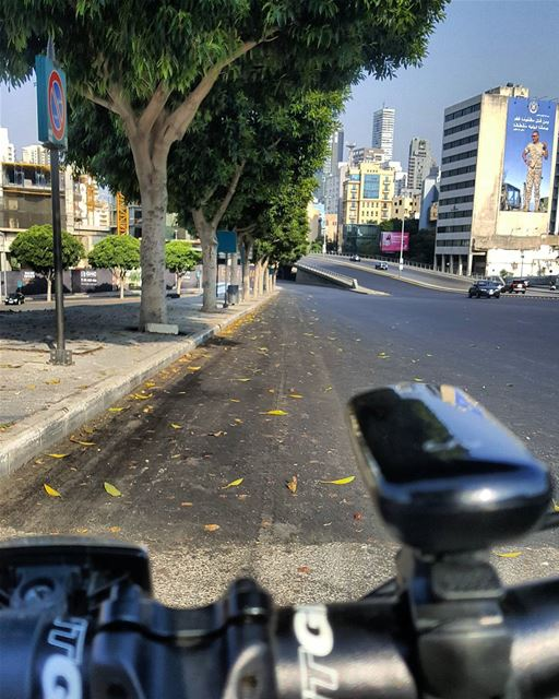 When we focus on our Goals..Obstacles disappear....🚲............. (Downtown Beirut)