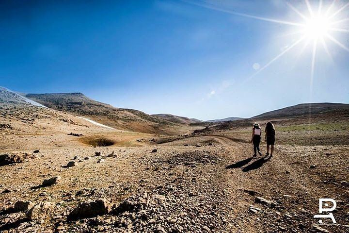 Shine your way ☀️ hiking  camping  lifehappensoutdoors  qornetelsawda ... (Qurnat as Sawda')