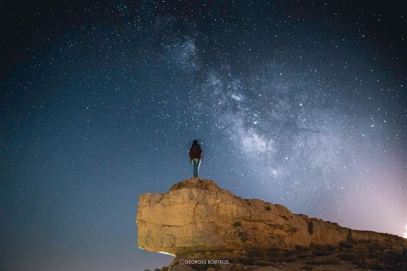 Casual meeting ✨-- landscape  nightphotography ... (Lebanon)