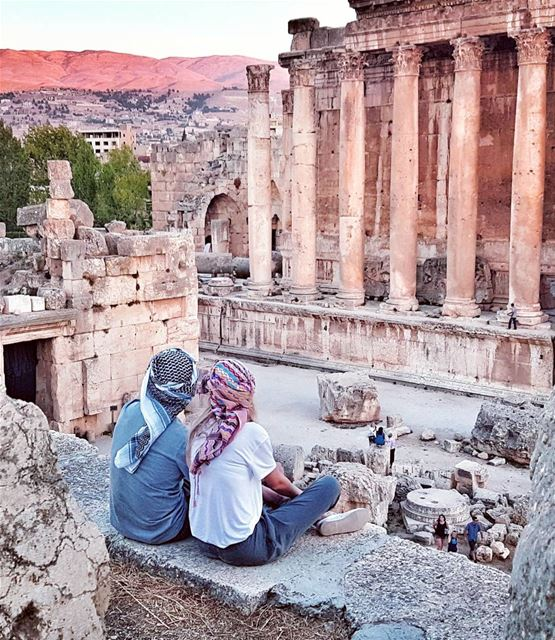 The wonders of Baalbek and especially this 2000 year old temple of Jupiter...
