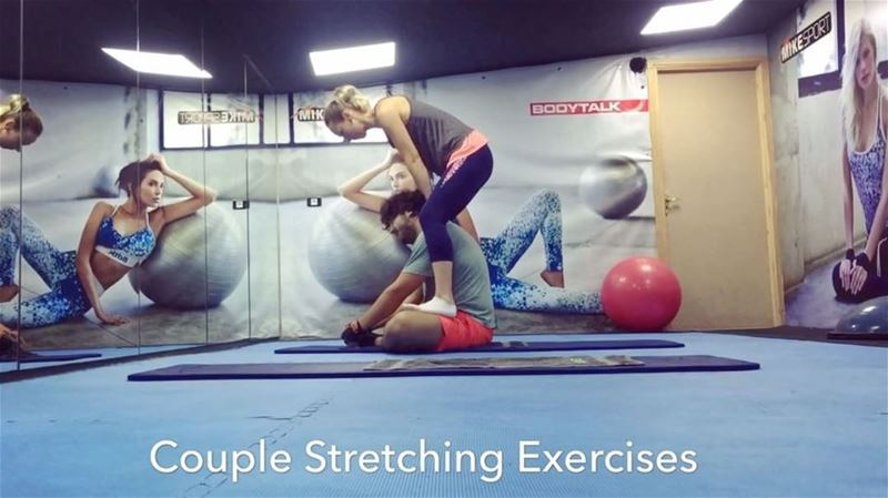 ✔️Couple Stretching ExercisesThe butterfly stretch works the inner thigh... (12 FitnessandHealth)