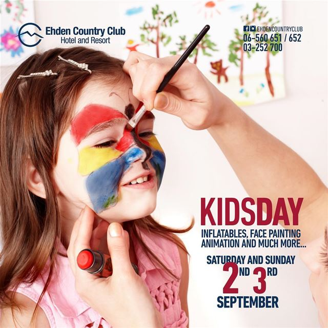 KIDS Day at Ehden Country Club! Spend a fun weekend with your kids on 2-3... (Ehden Country Club)