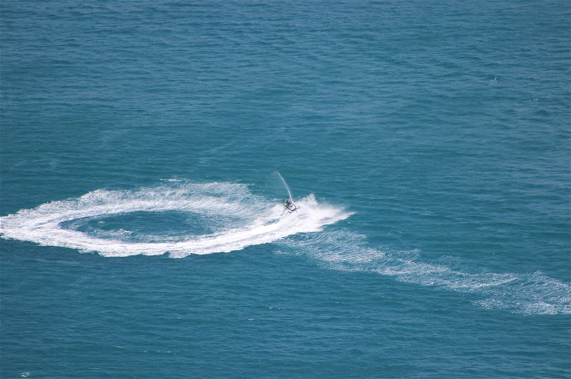 sea  water  day  blue  jetski  jet  geometry  outdoor  livelovelebanon ... (Chekka)