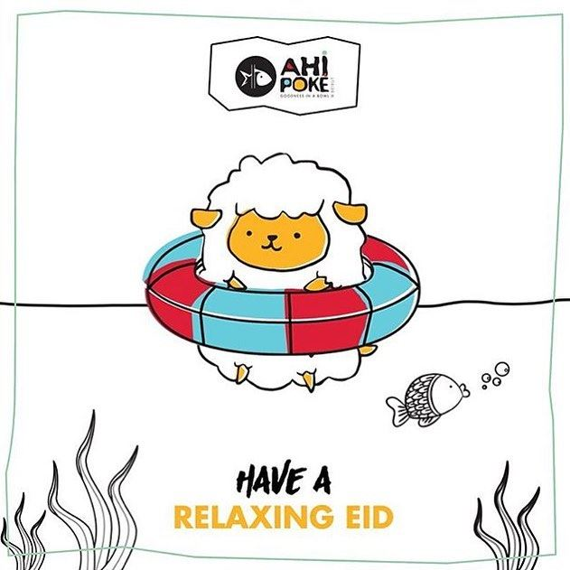 Happy Eid everyone!! ☺️☺️  ahipoke  beirut  lebanon  happy  eid  sheep ...
