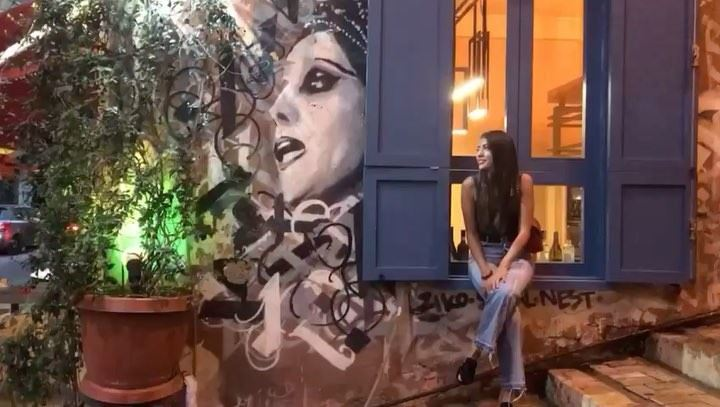 Once upon a beautiful evening in Beirut 🎶•••• Fayrouz  Fairouz ... (Gemmayze)